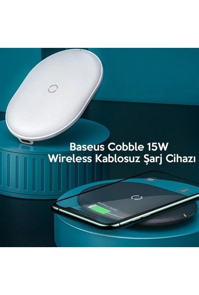 Baseus Cobble 15W wireless Kablosuz Şarj Cihazı WXYS-02