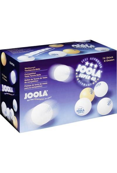 Joola Super 40 ITTF Onayllı Masa Tenisi Topu - 72 Adet x 1 Kutu