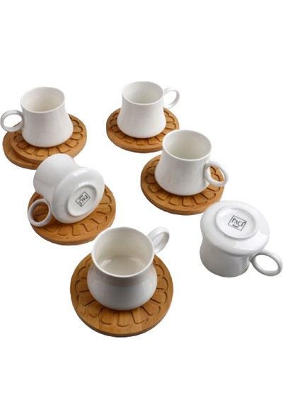 Paçi Bambu Porselen Türk Kahvesi Takımı