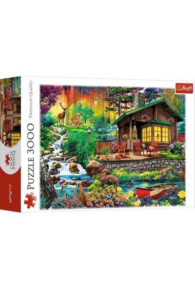 Trefl Puzzle Cabin In The Woods 3000 Parça