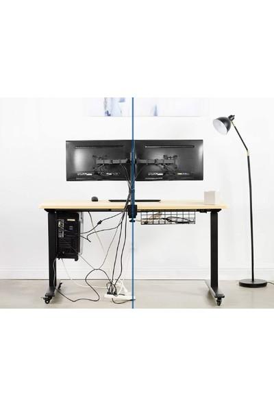 Infinikey Metal Masa Altı Kablo Düzenleyici Siyah