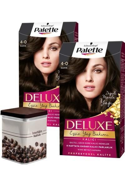 Palette Deluxe 4-0 Kahve x 2 Adet + Turk Kahvesi