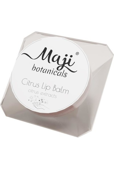 Maji Botanicals Citrus Lip Balm Dudak Bakım Balm 5 gr
