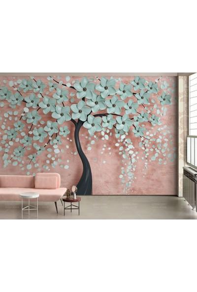 Dijiwork 3D Ağaç Duvar Kağıdı