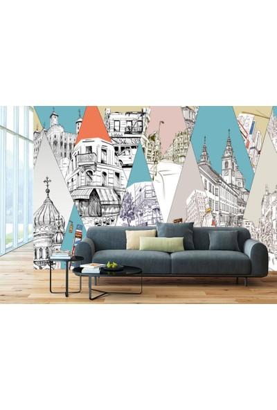 Dijiwork Şehirler Duvar Posteri