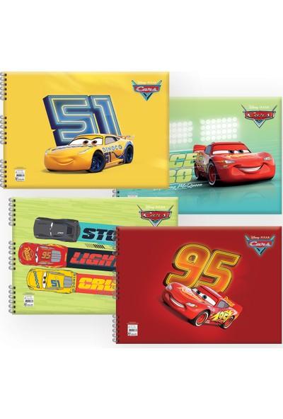 Keskin Color Cars 25 x 35 Resim Defteri - 4'lü