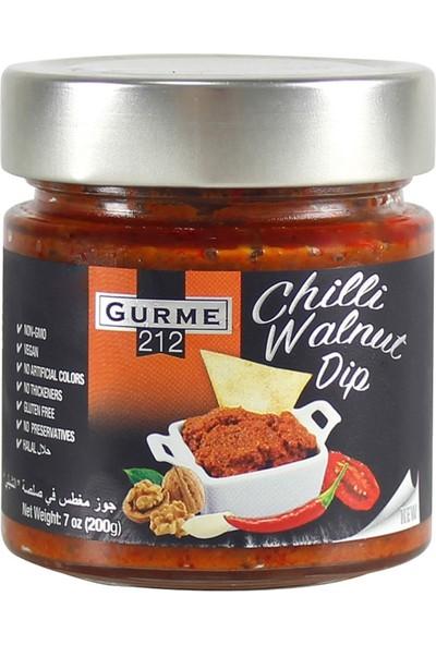 Gurme212 Cevizli Acı Dip Sos 255 ml
