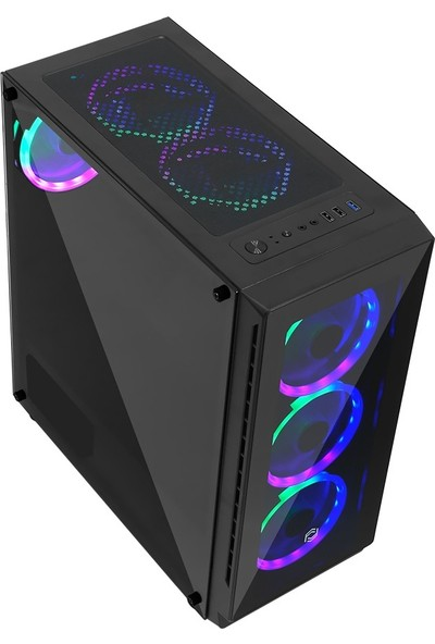 Asper A2680 AMD Ryzen 5 2600 8GB 480GB SSD RX580 Freedos Masaüstü Bilgisayar