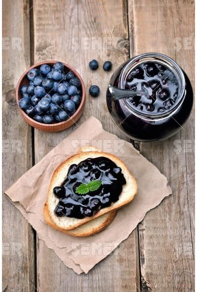 Şener 4'lü 400 gr %70 Meyve Karadut-Ahududu-Frenk Üzümü-İncir Reçeli
