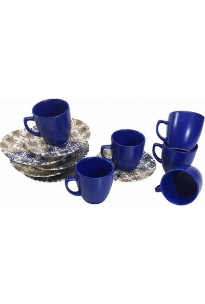 Keramika Fincan Takımı 12 Parça