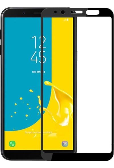Herbütçeye Samsung Galaxy J6 Tam Kaplayan Fiber Nano Ekran Koruyucu Siyah