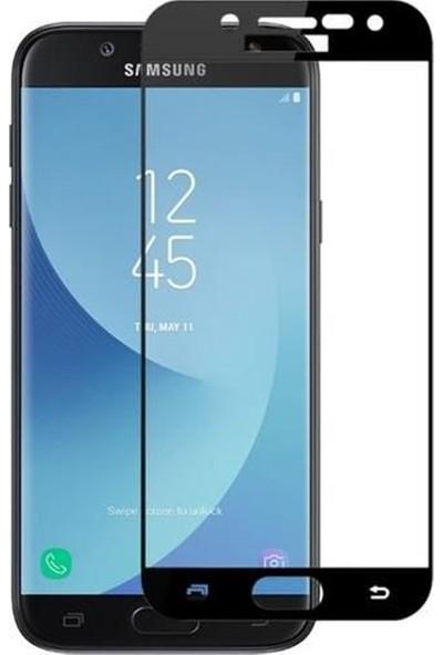 Herbütçeye Samsung Galaxy J7 Duo Tam Kaplayan Fiber Nano Ekran Koruyucu Siyah