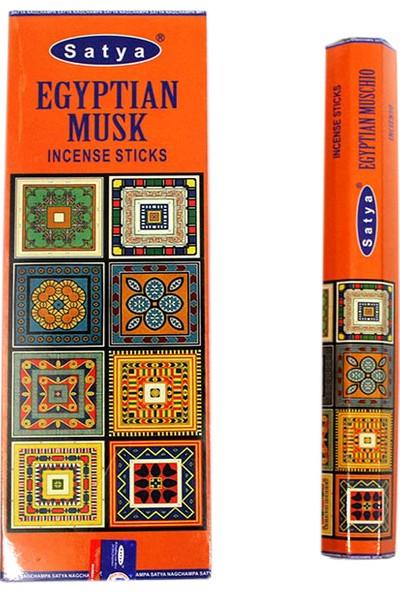 Original Buotique Egyptian Musk Mistik 6 Kutu 120 Adet Tütsü