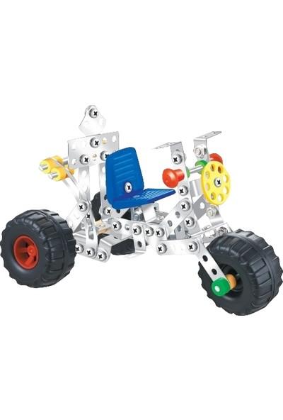 Aelo Toys Vidalı Metal Yapı Oyuncağı Motor No 3120