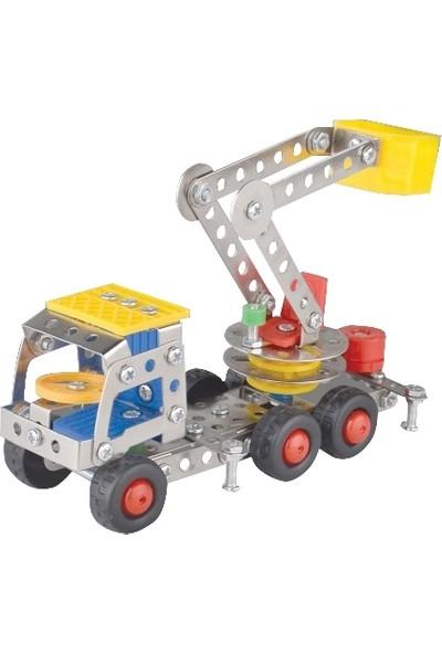 Aelo Toys Vidalı Metal Yapı Oyuncağı Vinc No 866