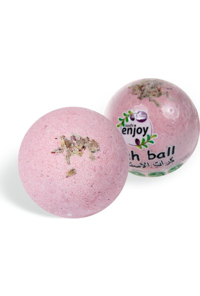 Suds Enjoy Banyo Topu Doğal Lavanta El Yapımı Banyo Bombası 100 gr
