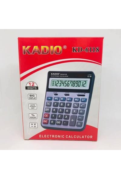 Kadio Digital Büyük Boy Hesap Makinası KD-6118