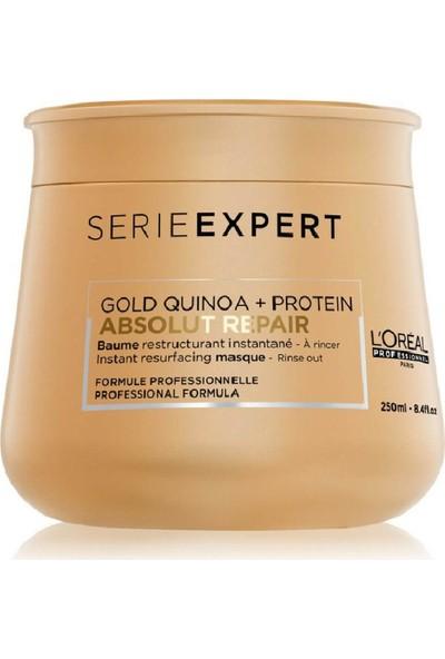 L'Oréal Professionnel Serie Expert Abs Repair Gold Quinoa Protein Maske 250ml