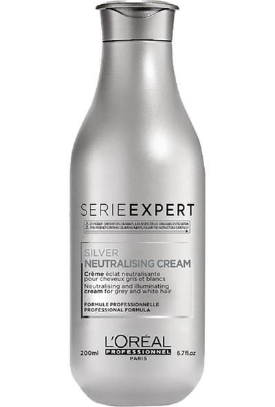 L'Oréal Professionnel Silver gri Ve Beyaz Saçlar İçin Parlaklık Kremi 200ml