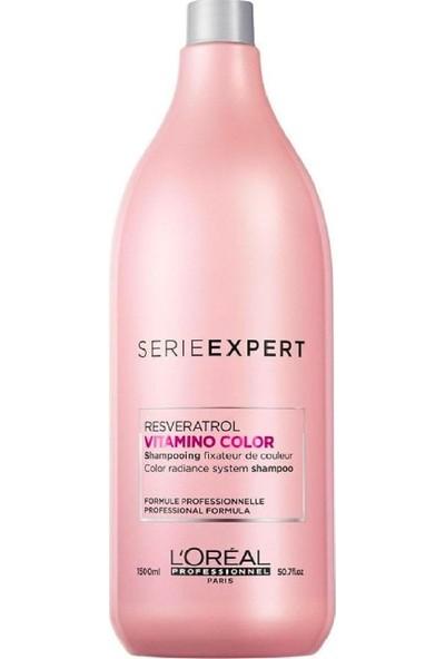 Loreal Serie Expert Resveratrol Vitamino Color Şampuan 1500 ml