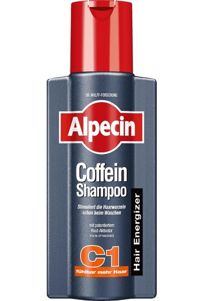Alpecin Kafein Şampuan 250 Ml Caffeine Shampoo