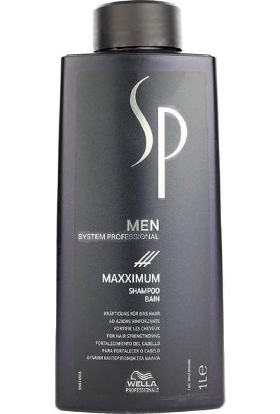 Wella Sp Men Maxximum Dökülme Önleyici Şampuan 1000ml