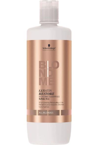 Schwarzkopf Blondme Keratin Yükleme Bağ Yapıcı Şampuan 1000Ml