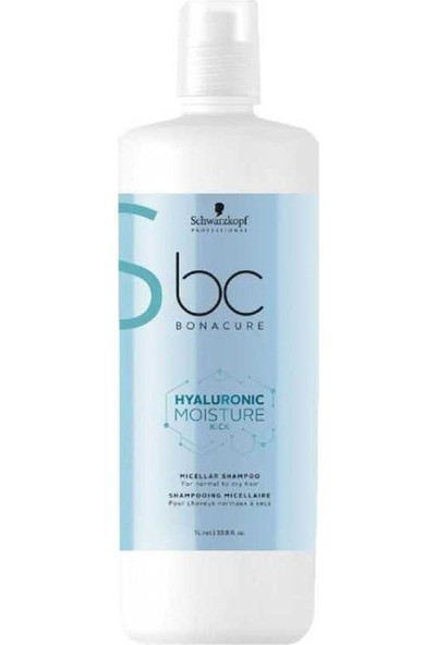 Bc Bonacure Moisture Kick Nem Yükleme Şampuan 1000 ml Yeni