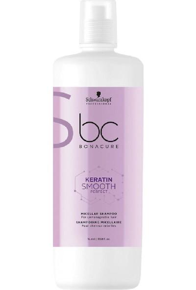 Bonacure Keratin Smooth Perfect Şampuan 1000 ml