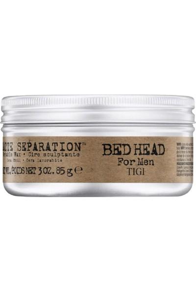 Tigi Bed Head For Men Matte Separation Workable Wax - Sert Tutuşlu Wax