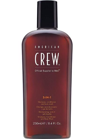 American Crew 3 İn 1 Sampuan 250 Ml