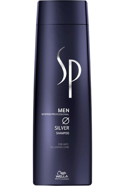 Wella Sp Men Silver Beyaz Saçlara Özel Şampuan 250ml