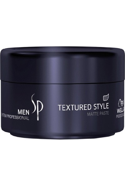 Wella Sp Men Textured Style Mat Şekillendirci 75ml