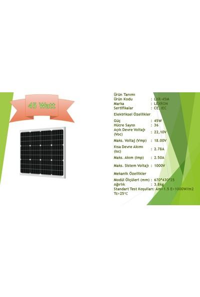 Lexron Güneş Paneli Monokristal 45 W
