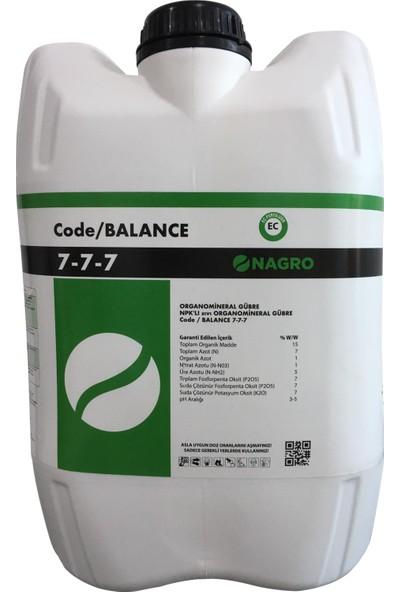 Nagro Code Balance - Npk'lı Organik Sıvı Gübre 20 lt