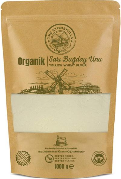 Thestonemills Organik Taş Taş Değirmen Sarı Un 1 kg