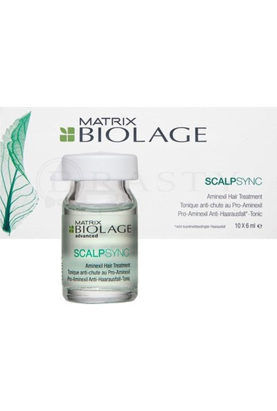 Matrix Biolage Scalpsync Aminexil Tonic Serum 10 x 6 ml