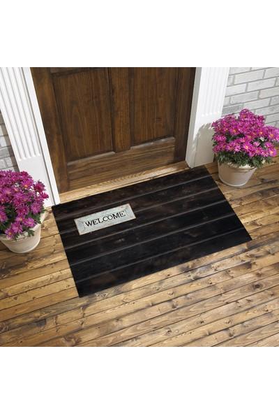 Evse Homes Dijital Baskılı Kapı Önü Paspası 45 x 75 cm