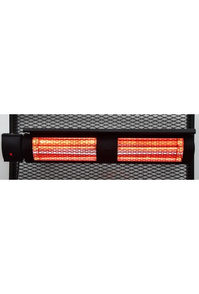 Normgas Mtn-Es 3000W Infrared Kumandalı Elektrikli Isıtıcı