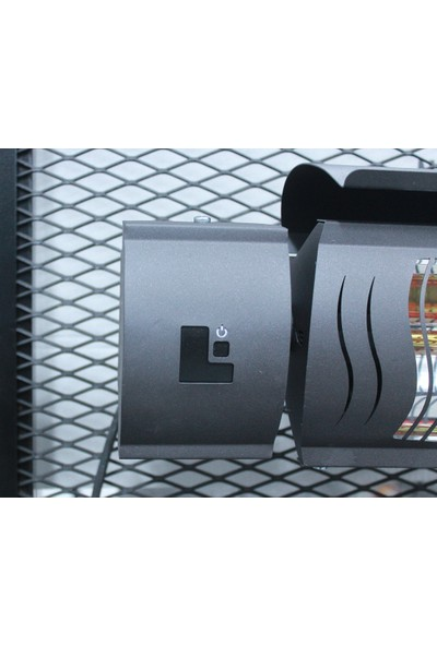 Normgas Mtn-Es 2000W Infrared Kumandalı Elektrikli Isıtıcı