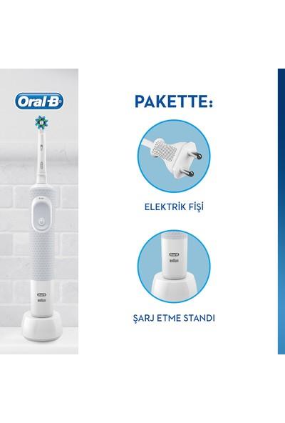 Oral-B D100 Şarjlı White Crossaction Diş Fırçası