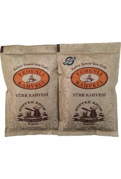 Yemenli Kahveci Türk Kahvesi + Damla Sakızlı Kahve 100 gr 2'li
