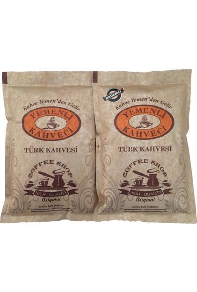 Yemenli Kahveci Türk Kahvesi + Bademli Kahve 100 gr 2'li