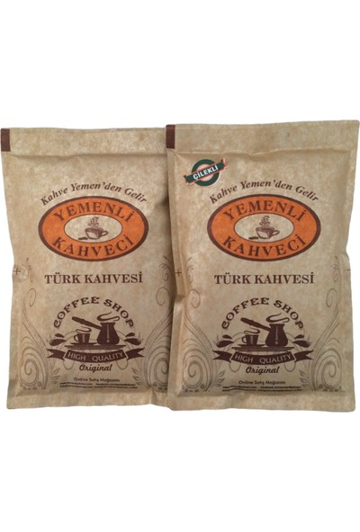 Yemenli Kahveci Türk Kahvesi + Çilekli Kahve 100 gr 2'li