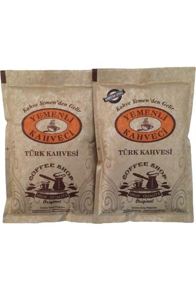 Yemenli Kahveci Türk Kahvesi + Hindistan Cevizli Kahve 100 gr 2'li