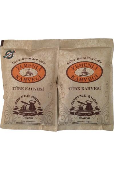 Yemenli Kahveci Türk Kahvesi + Karamelli Kahve 100 gr 2'li