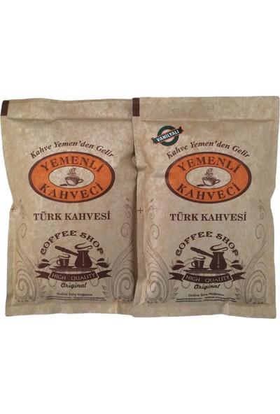 Yemenli Kahveci Türk Kahvesi + Vanilyalı Kahve 100 gr 2'li