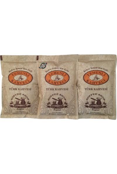 Yemenli Kahveci Türk Kahvesi + Karamelli Kahve (3X100GR)
