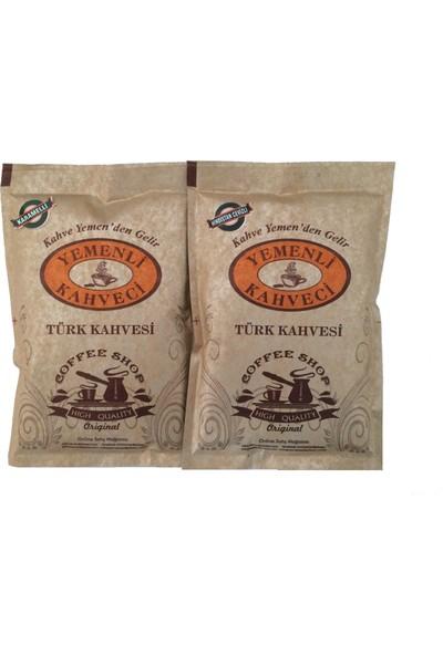 Yemenli Kahveci Karamelli & Hindistan Cevizli Türk Kahvesi (2X100GR)