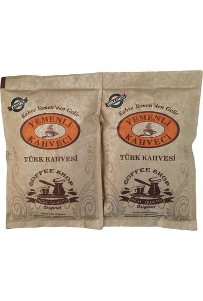 Yemenli Kahveci Damla Sakızlı & Fındıklı Türk Kahvesi (2X100GR)